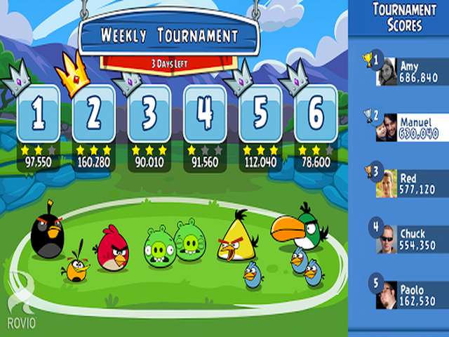 Angry Birds Friends 0