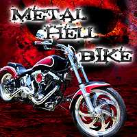 Онлайн игра Metal hell bike