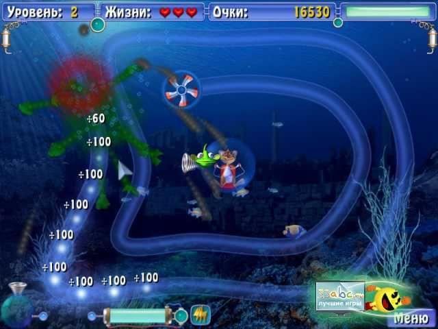 Подводное Приключение, бесплатные скриншоты к играм для мальчиков Сприлл. .