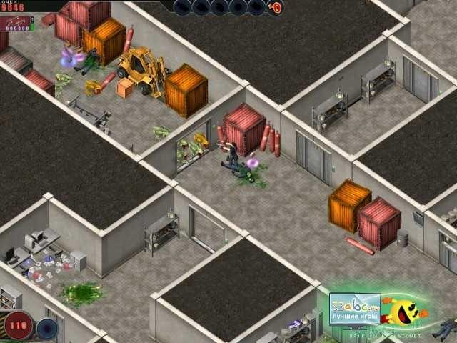 Скриншот к игре Алиен шутер. Начало вторжения 1. Все игры жанр