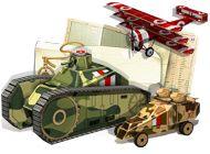 Игра Война во коробке. Бумажные танки
