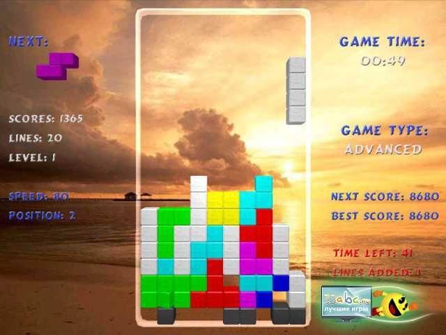 Скачать игру tetris